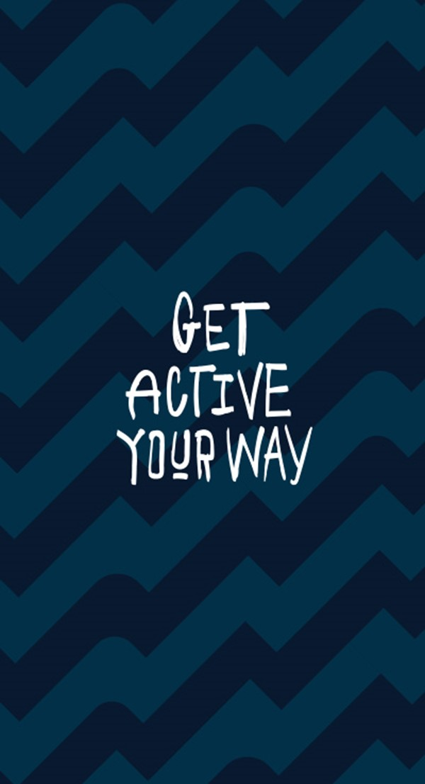 Get Active Your Way Side image - Pattern