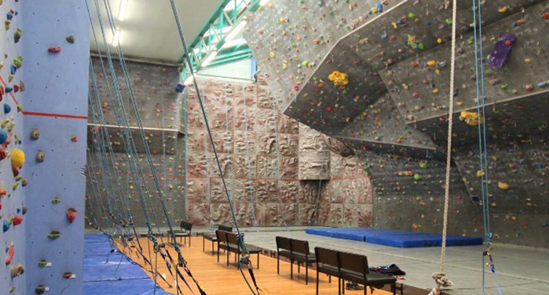 Birkenhead indoor rock climbing walls with ropes