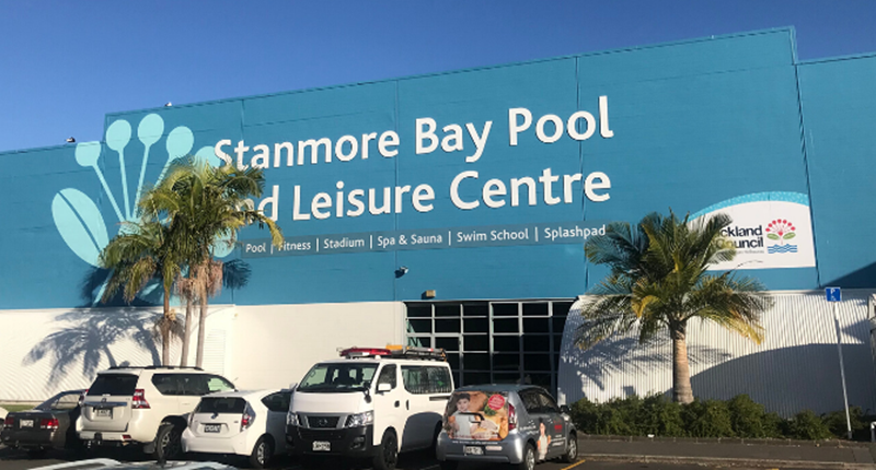 Stanmore bay exterior signage on building